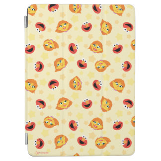 Sesame Street | Julia & Elmo Yellow Star Pattern iPad Air Cover