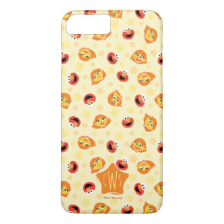 Sesame Street | Julia & Elmo Yellow Star Pattern iPhone 8 Plus/7 Plus Case