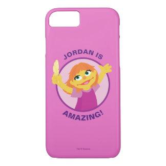 Sesame Street | Julia Holding Feather iPhone 8/7 Case