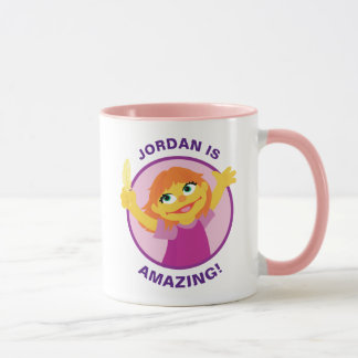 Sesame Street | Julia Holding Feather Mug