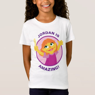 Sesame Street | Julia Holding Feather T-Shirt