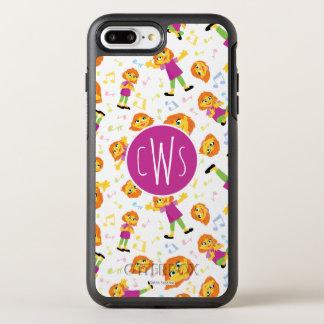 Sesame Street | Julia Music Pattern OtterBox Symmetry iPhone 8 Plus/7 Plus Case