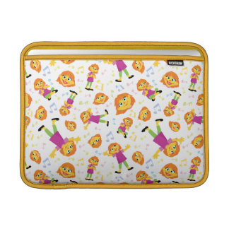 Sesame Street | Julia Music Pattern Sleeve For MacBook Air