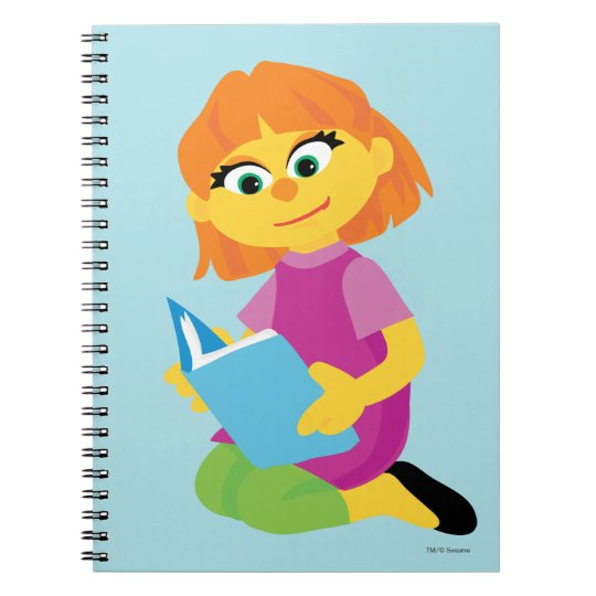 Sesame Street | Julia Reading a Book