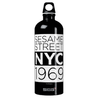 Sesame Street NYC Water Bottle