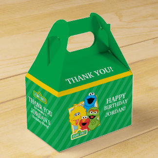 Sesame Street Pals Birthday Favour Box