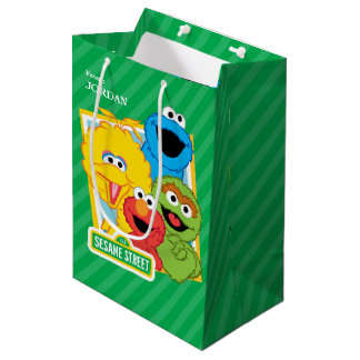 Sesame Street Pals Birthday Medium Gift Bag