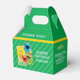 Sesame Street Pals Birthday Wedding Favour Box