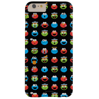 Sesame Street Pals Emoji Pattern Barely There iPhone 6 Plus Case