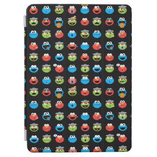 Sesame Street Pals Emoji Pattern iPad Air Cover