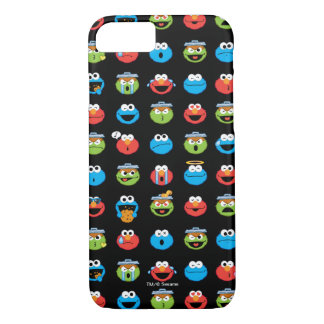 Sesame Street Pals Emoji Pattern iPhone 8/7 Case