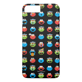 Sesame Street Pals Emoji Pattern iPhone 8 Plus/7 Plus Case