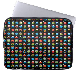 Sesame Street Pals Emoji Pattern Laptop Sleeve