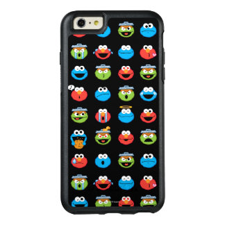 Sesame Street Pals Emoji Pattern OtterBox iPhone 6/6s Plus Case