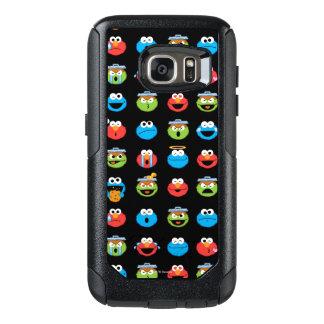 Sesame Street Pals Emoji Pattern OtterBox Samsung Galaxy S7 Case