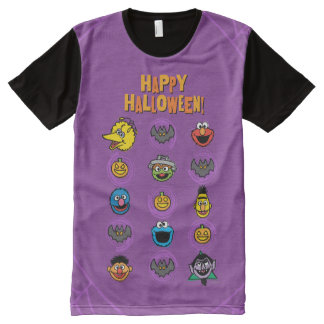 Sesame Street Pals - Happy Halloween! All-Over Print T-Shirt