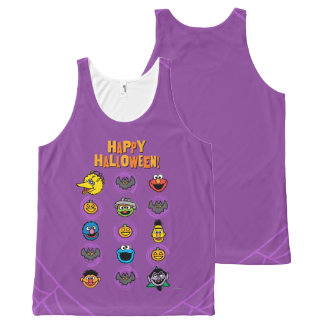 Sesame Street Pals - Happy Halloween! All-Over Print Tank Top