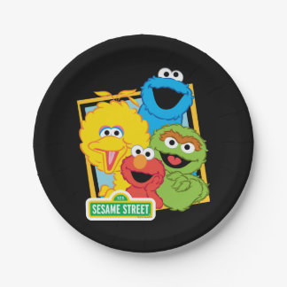 Sesame Street Pals Paper Plate