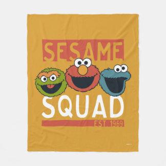 Sesame Street - Sesame Squad Fleece Blanket