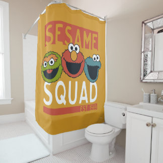 Sesame Street - Sesame Squad Shower Curtain