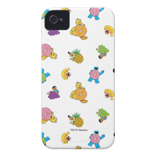 Sesame Street Tropical Pattern Case-Mate iPhone 4 Cases