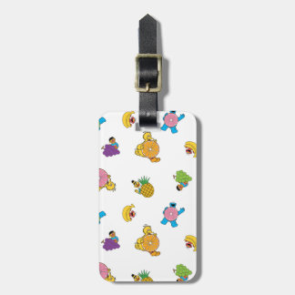 Sesame Street Tropical Pattern Luggage Tag