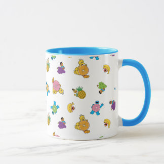 Sesame Street Tropical Pattern Mug