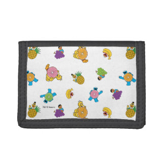 Sesame Street Tropical Pattern Trifold Wallet