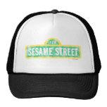 Sesame Street Yellow Sign Logo Hat