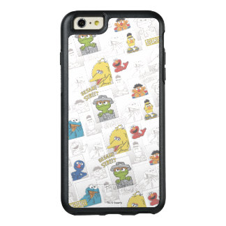 Sesame StreetVintage Comic Pattern OtterBox iPhone 6/6s Plus Case