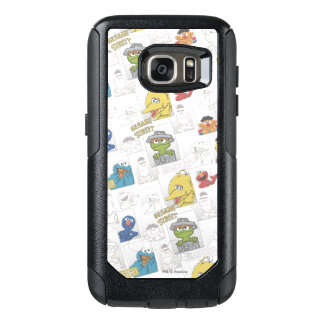 Sesame StreetVintage Comic Pattern OtterBox Samsung Galaxy S7 Case