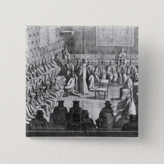 Session of Parliament presided by Regent 15 Cm Square Badge