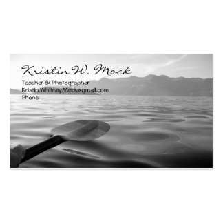 Set a sail on a moment of bliss pack of standard business cards