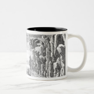 Set design by Torelli for 'Andromede' Two-Tone Mug