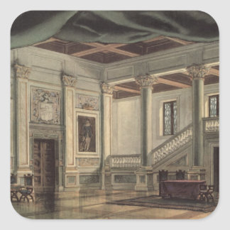 Set design for Act III Square Sticker