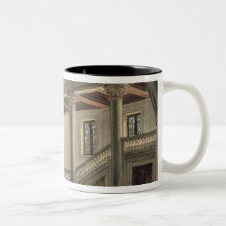 Set design for Act III Two-Tone Coffee Mug
