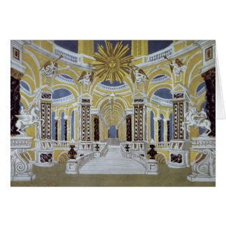 Set design for 'The Magic Flute' Card