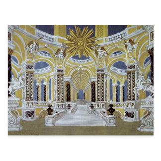 Set design for 'The Magic Flute' Postcard