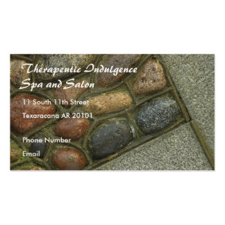 Set in Stone photo Business Card Templates