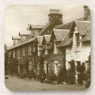 Set of 6 coasters of vintage image Strathyre