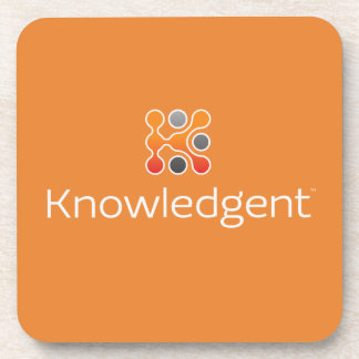 Set of 6 Knowledgent Coasters