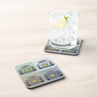 Set of 6 Nissan Figaro Cars Drink Coasters