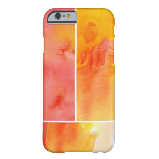 Set of abstract watercolor hand painted barely there iPhone 6 case
