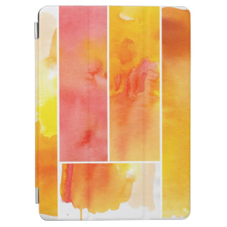 Set of abstract  watercolor hand painted iPad air cover
