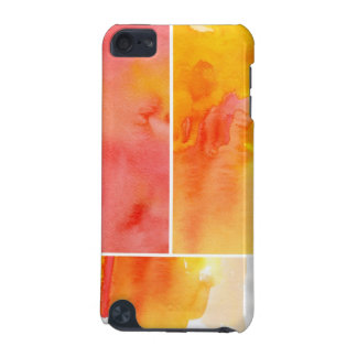 Set of abstract  watercolor hand painted iPod touch 5G cover