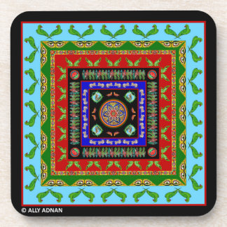 Set of Coasters Inspired by Truck Art - 2
