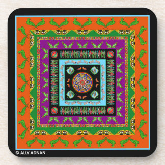 Set of Coasters Inspired by Truck Art - 4
