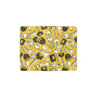Set of Keys Background Pocket Moleskine Notebook