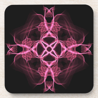 Set of Pink Celtic Cross Coaster