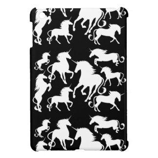 set of unicorns iPad mini cases
